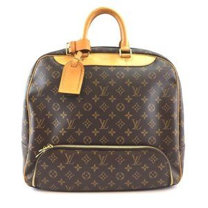 Louis Vuitton Evasion #43472 Gym Duffel Brown Monogram Canvas Weekend/Travel Bag